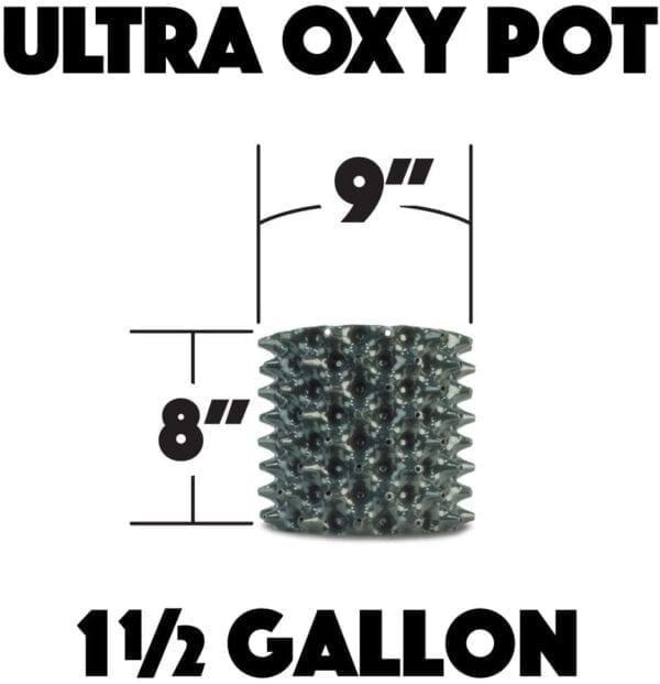 1 Gallon Air Pots Measurements
