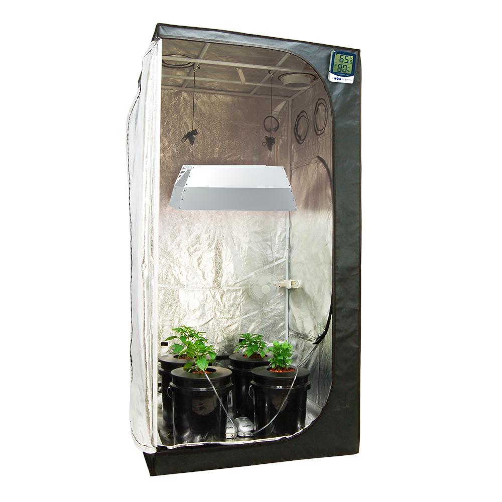 HTG Hydroponic 315w CMH 3u0027x3u2032 Grow Tent Kit  sc 1 st  HTG Supply & HTG Hydroponic 315w CMH 3u0027x3u0027 Grow Tent Kit - HTG Supply Online Store