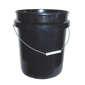 Black Hydroponics Bucket