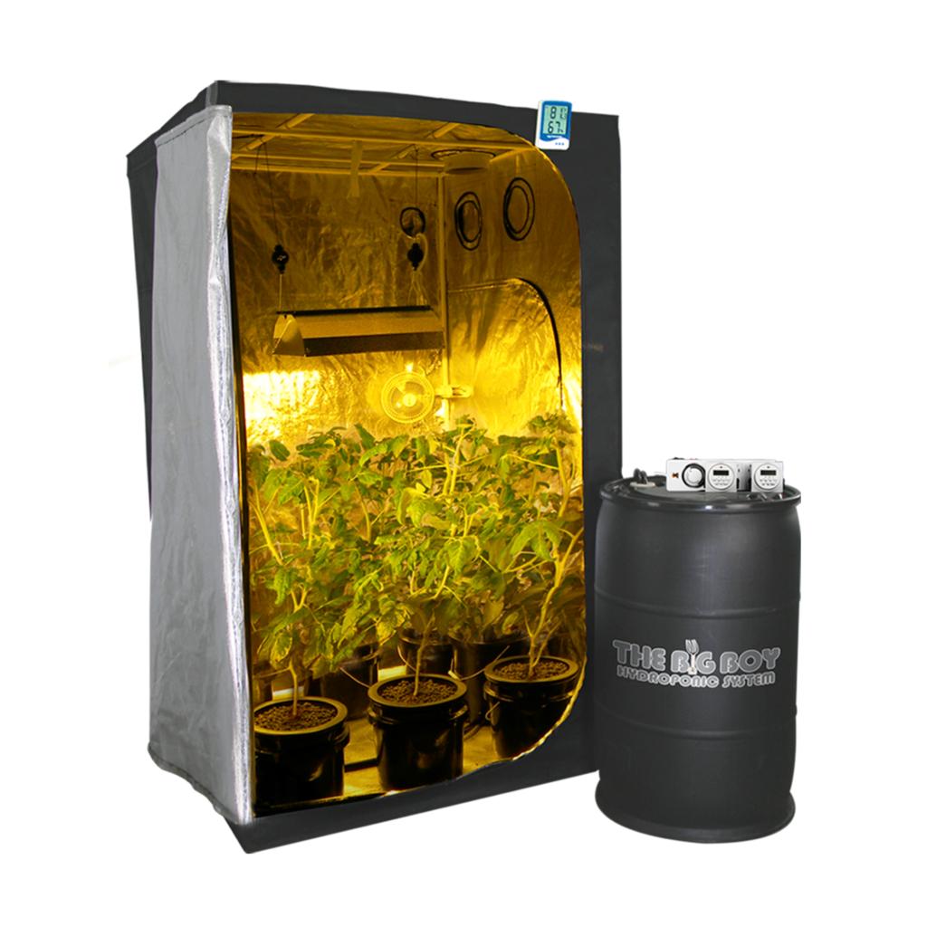 HTG 600w Medium 4'x4' Hydroponic Grow Tent Kit