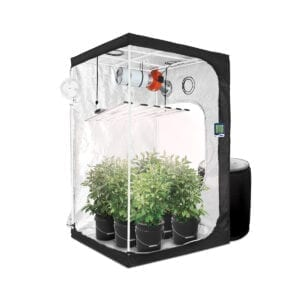 HTG 4x4 Hydroponic LED Grow Tent Kit