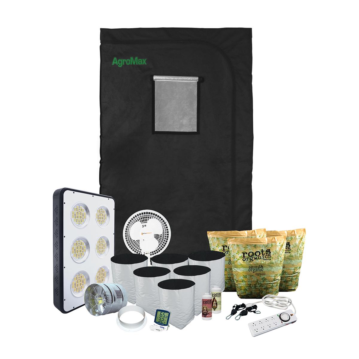 HTG 4x4 LED Grow Tent Kit