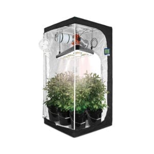 HTG Original 3x3 Hydroponic LED Grow Tent Kit