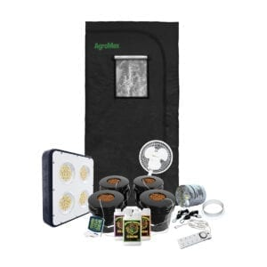 HTG Original 3x3 Hydroponic LED Grow Tent Kit System