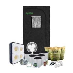 HTG Original 3x3 Organic LED Grow Tent Kit System