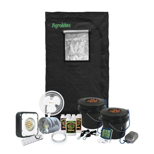 HTG Small 2'x3' Hydroponic LED Grow Tent Kit System