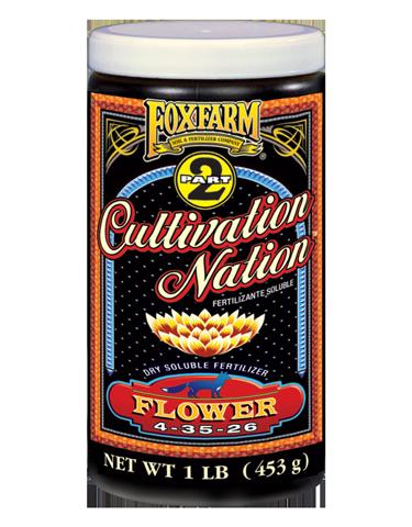FoxFarm Cultivation Nation Flower 1lb