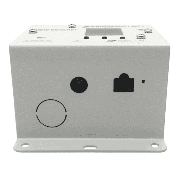 SXE Digital Indoor Environment Monitor Side View