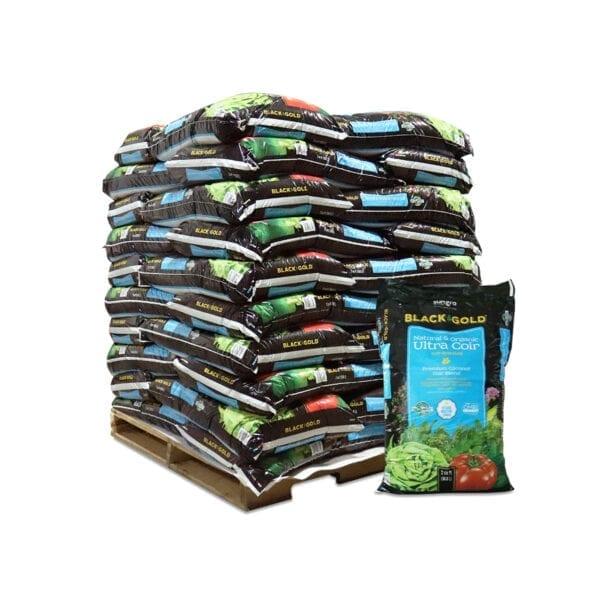Black Gold Natural Organic Ultra Coir Pallet