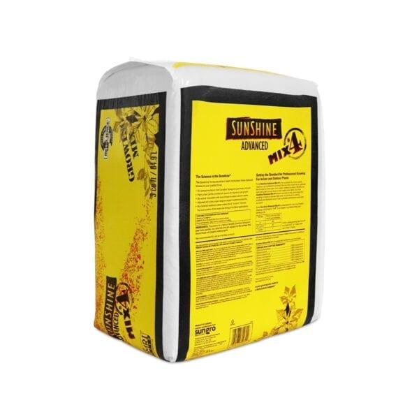 Sungro Sunshine 4 Advanced Growing Potting Mix Indications