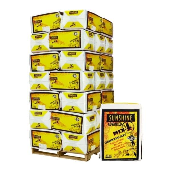 Sungro Sunshine 4 Advanced Growing Mix Pallet