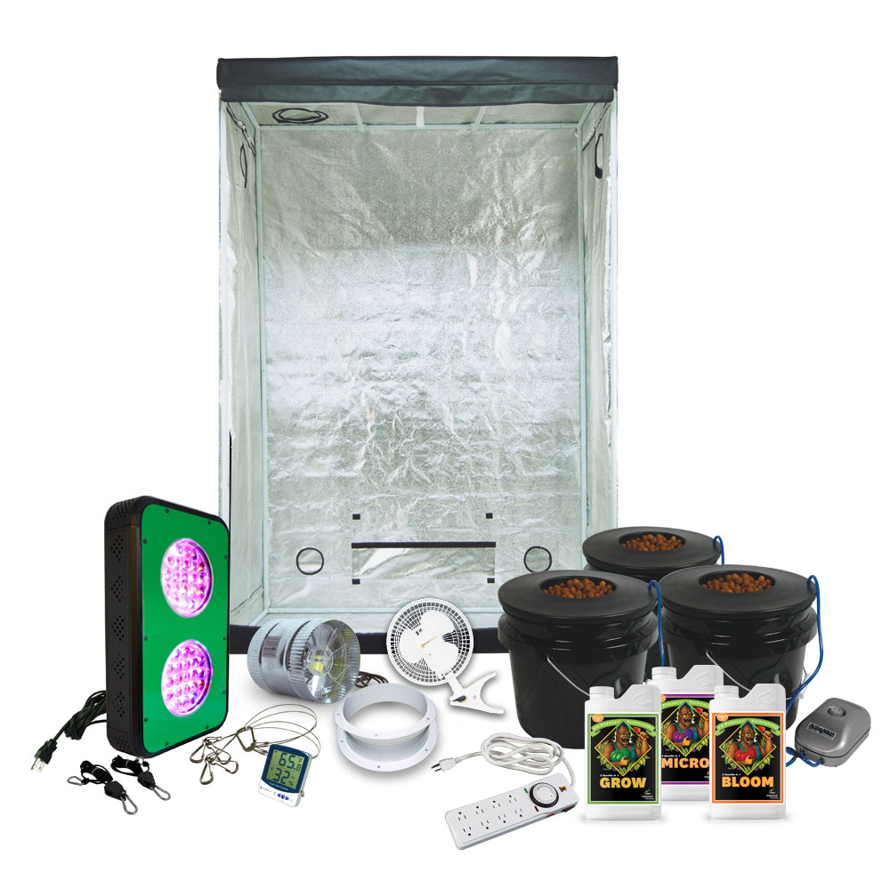 2x4 LED Grow Tent Base Equpment