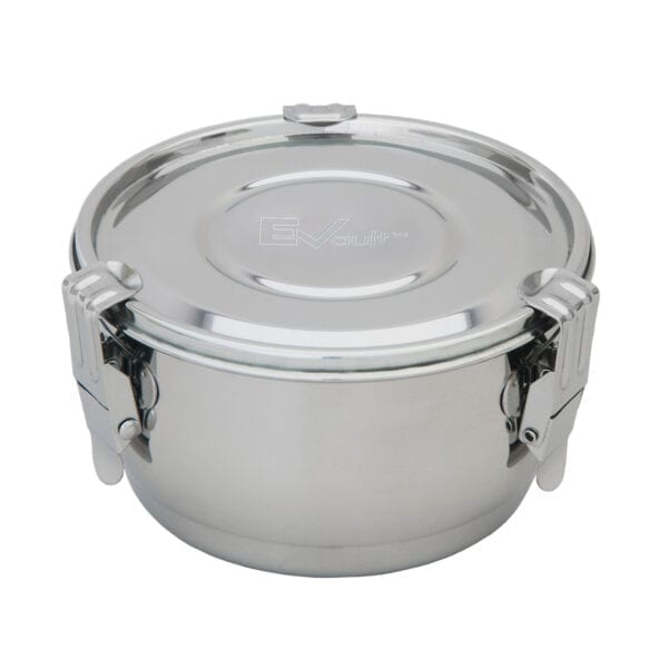 Evault Stainless Steel Extract Storage and Transportation Container - 1 Liter